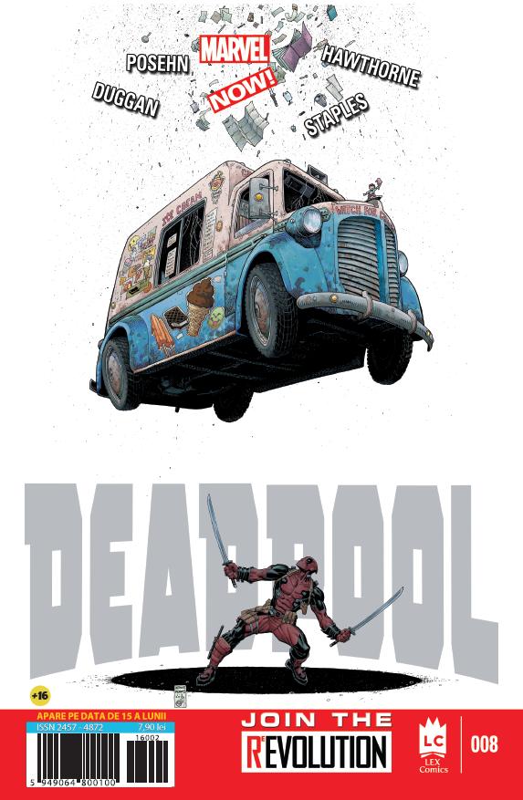 Deadpool 8 coperta