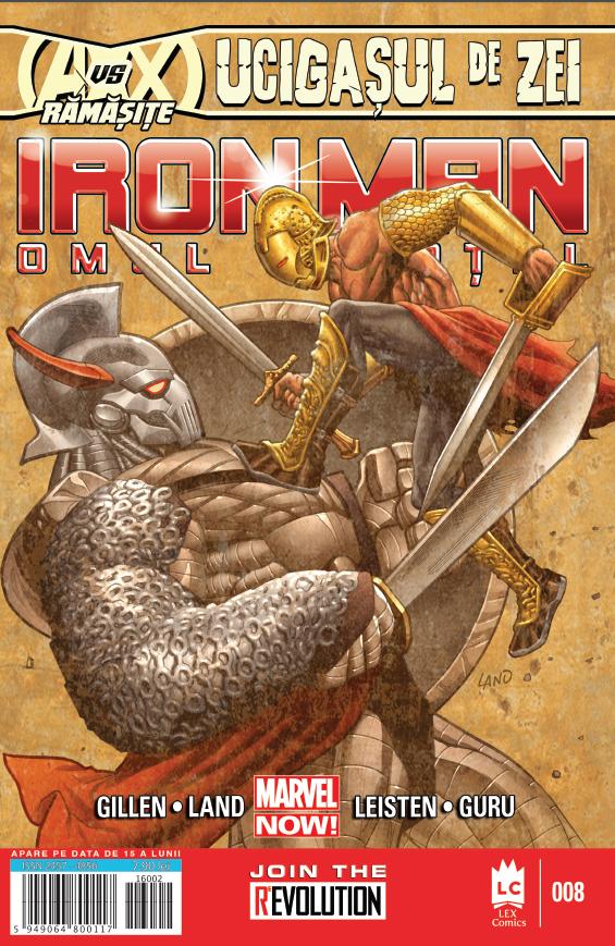 Iron Man 8 coperta