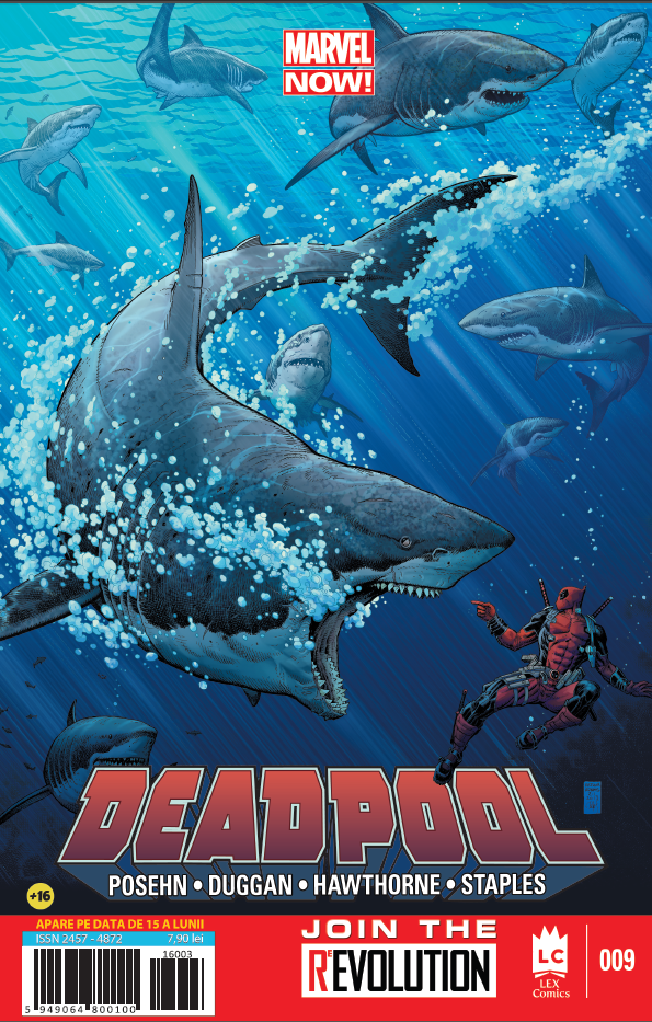 Deadpool 9 coperta