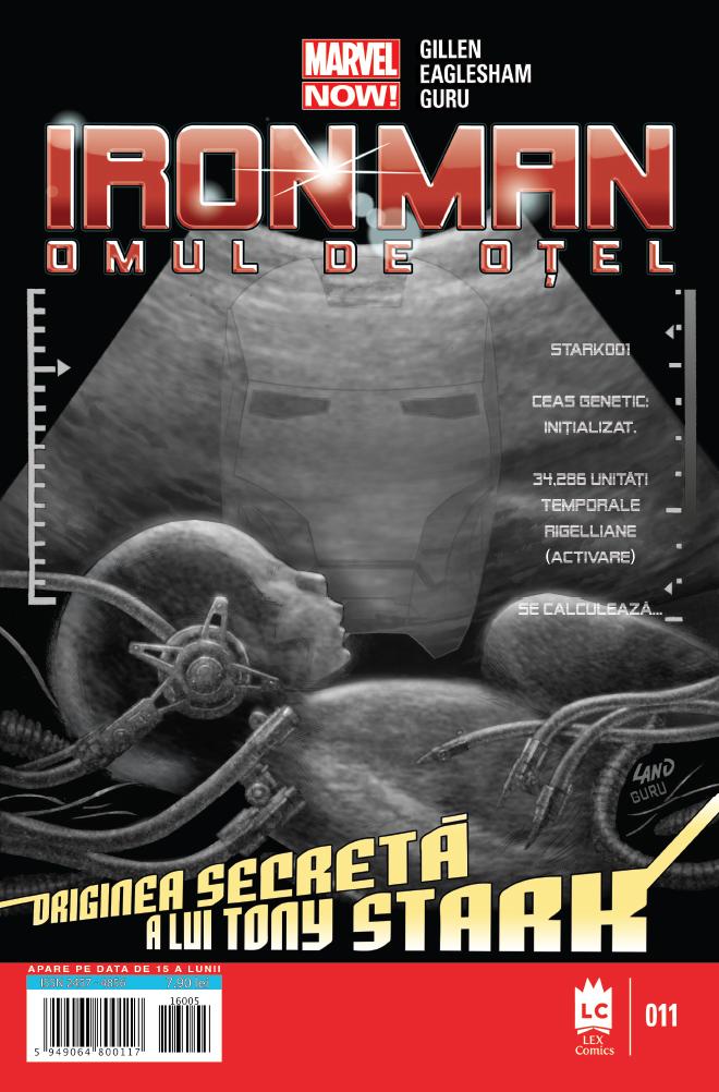 Iron Man #11 coperta